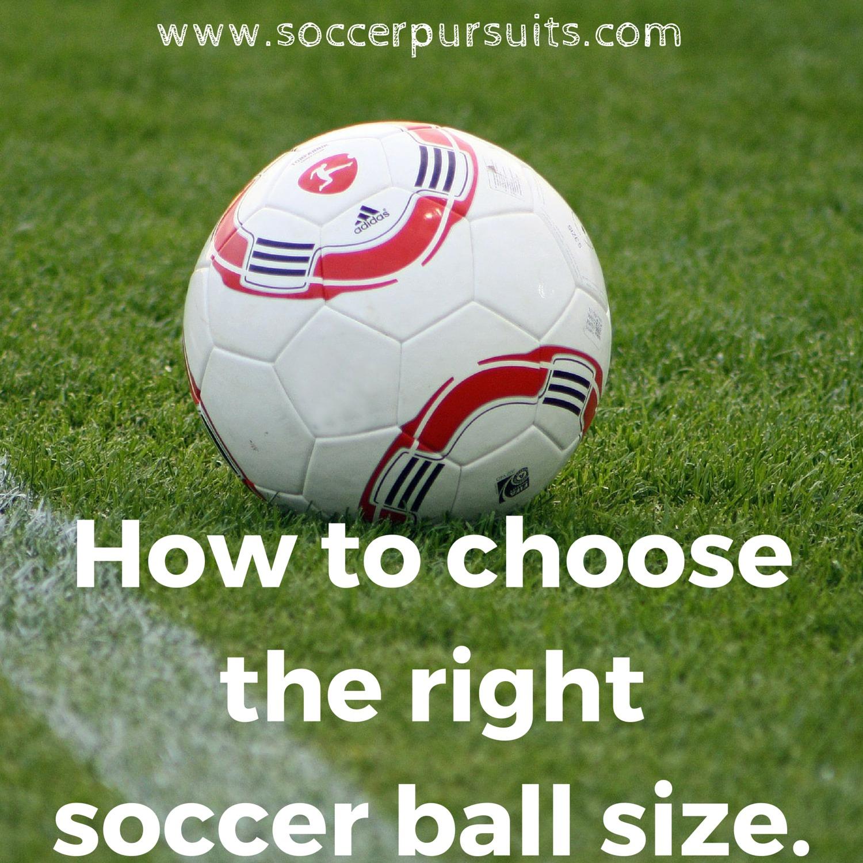 soccer ball sizes official standard